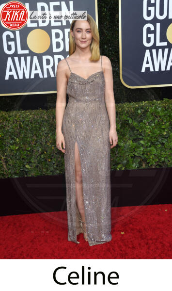 Saoirse Ronan - Beverly Hills - 31-12-2013 - Golden Globes 2020, gli stilisti sul red carpet