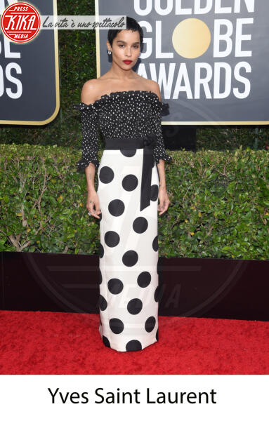 Zoe Kravitz - Beverly Hills - 31-12-2013 - Golden Globes 2020, gli stilisti sul red carpet