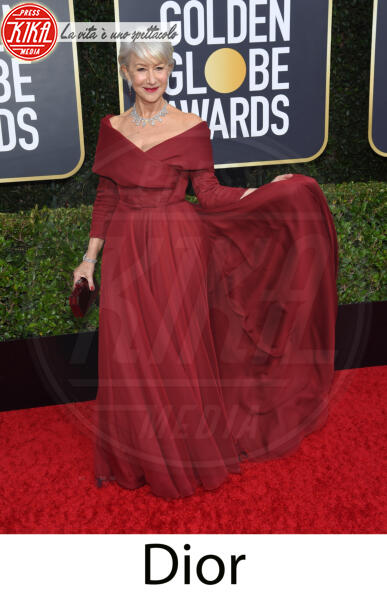 Helen Mirren - Beverly Hills - 31-12-2013 - Golden Globes 2020, gli stilisti sul red carpet