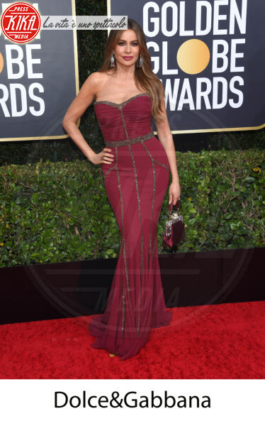 Sofia Vergara - Beverly Hills - 31-12-2013 - Golden Globes 2020, gli stilisti sul red carpet