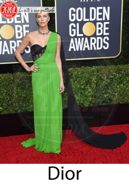 Charlize Theron - Beverly Hills - 31-12-2013 - Golden Globes 2020, gli stilisti sul red carpet