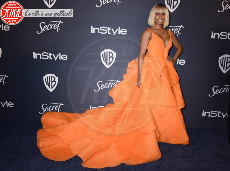 Laverne Cox - Beverly Hills - 05-01-2020 - Golden Globes 2020: al party InStyle, Paris è trasparente!
