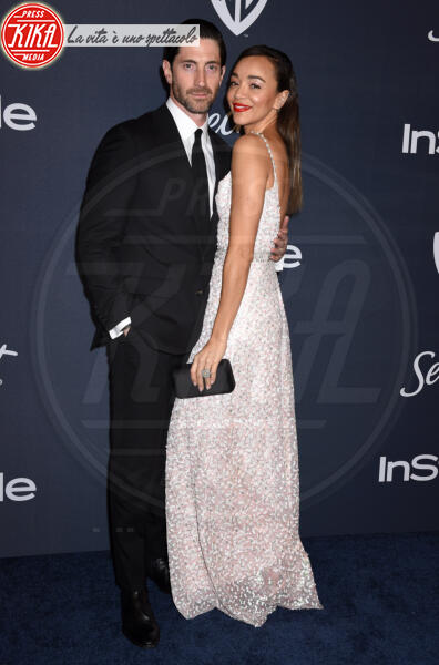 Iddo Goldberg, Ashley Madekwe - Beverly Hills - 05-01-2020 - Golden Globes 2020: al party InStyle, Paris è trasparente!