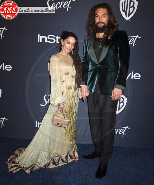 Jason Momoa, Lisa Bonet - Beverly Hills - 05-01-2020 - Golden Globes 2020: al party InStyle, Paris è trasparente!