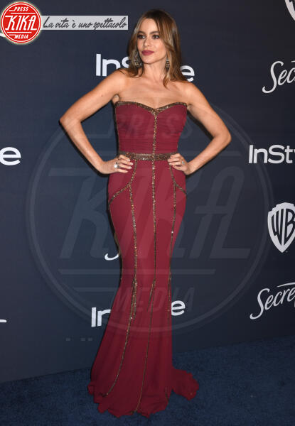 Sofia Vergara - Beverly Hills - 05-01-2020 - Golden Globes 2020: al party InStyle, Paris è trasparente!