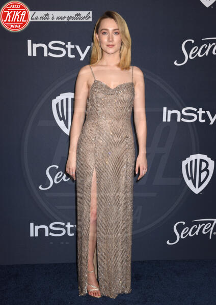 Saoirse Ronan - Beverly Hills - 05-01-2020 - Golden Globes 2020: al party InStyle, Paris è trasparente!