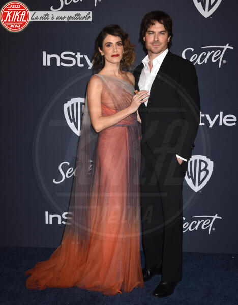 Ian Somerhalder, Nikki Reed - Beverly Hills - 05-01-2020 - Golden Globes 2020: al party InStyle, Paris è trasparente!