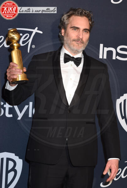 Joaquin Phoenix - Beverly Hills - 05-01-2020 - Golden Globes 2020: al party InStyle, Paris è trasparente!