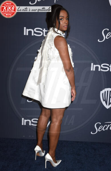 Tika Sumpter - Beverly Hills - 05-01-2020 - Golden Globes 2020: al party InStyle, Paris è trasparente!
