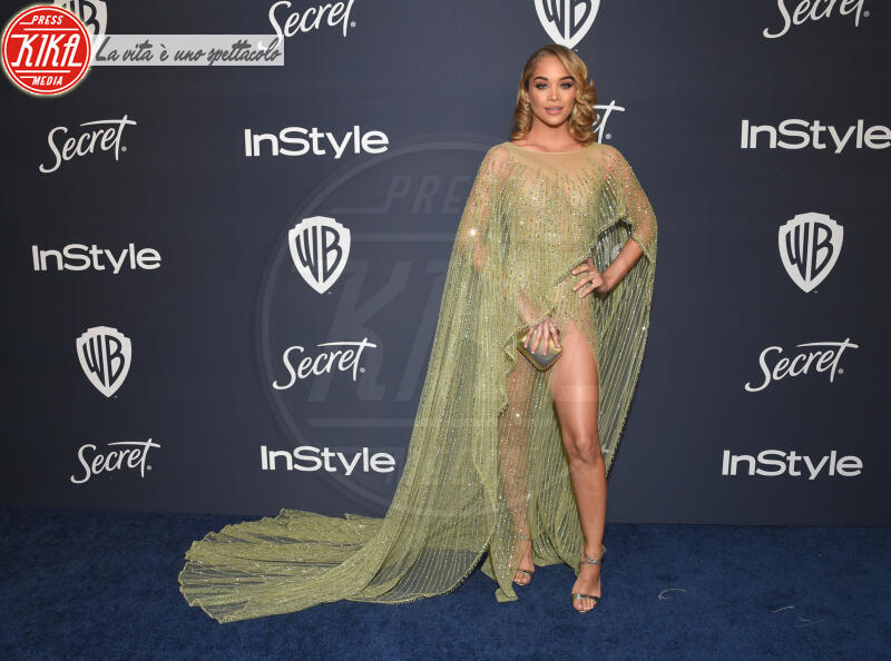 Jasmine Sanders - Beverly Hills - 01-01-2014 - Golden Globes 2020: al party InStyle, Paris è trasparente!