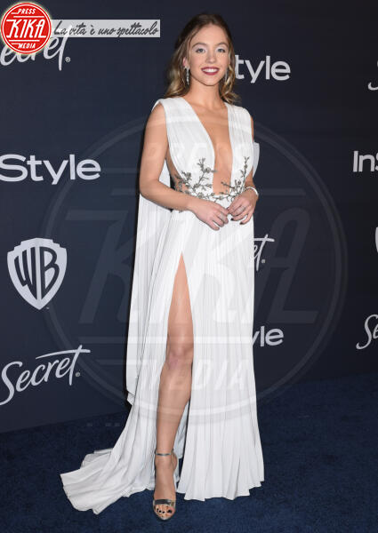Sydney Sweeney - Beverly Hills - 05-01-2020 - Golden Globes 2020: al party InStyle, Paris è trasparente!