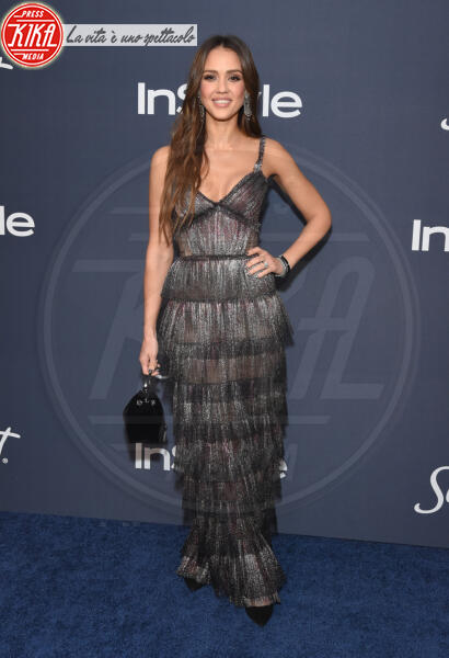 Jessica Alba - Beverly Hills - 01-01-2014 - Golden Globes 2020: al party InStyle, Paris è trasparente!