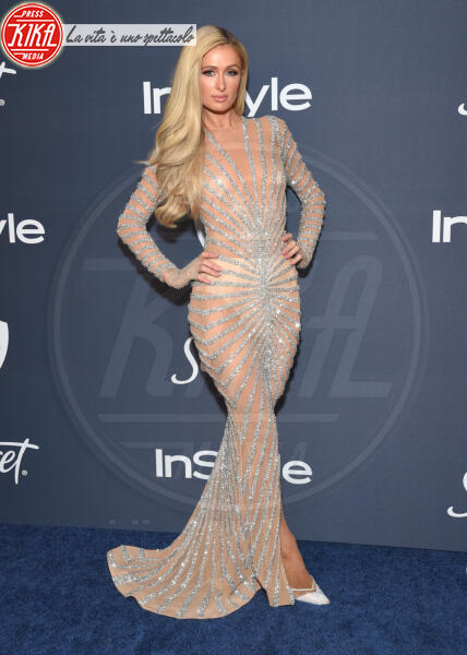 Paris Hilton - Beverly Hills - 01-01-2014 - Golden Globes 2020: al party InStyle, Paris è trasparente!