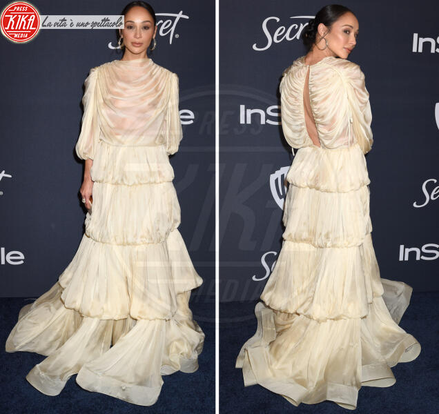 Cara Santana - 06-01-2020 - Golden Globes 2020: al party InStyle, Paris è trasparente!