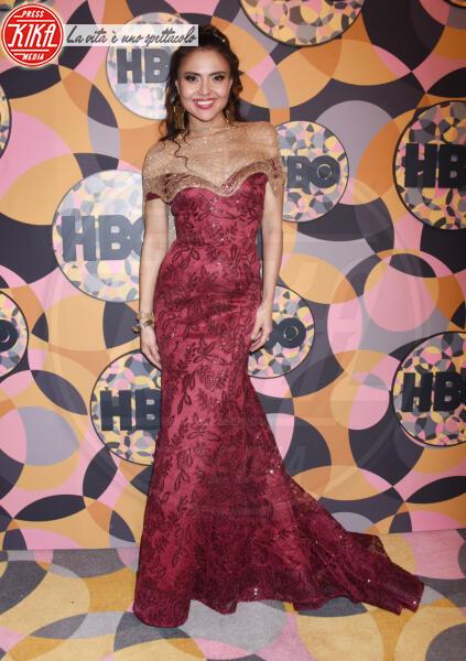 Aisa Laga - Beverly Hills - 05-01-2020 - Golden Globes 2020, Helen Mirren signora in rosso al party HBO