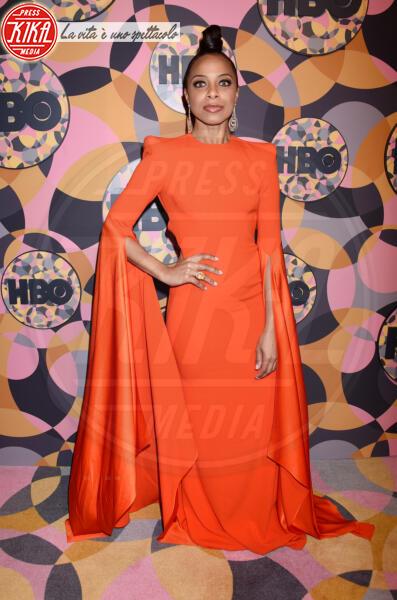 Nischelle Turner - Beverly Hills - 05-01-2020 - Golden Globes 2020, Helen Mirren signora in rosso al party HBO