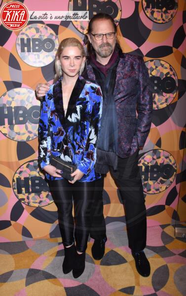 Miranda Nordling, Jeffrey Nordling - Beverly Hills - 05-01-2020 - Golden Globes 2020, Helen Mirren signora in rosso al party HBO