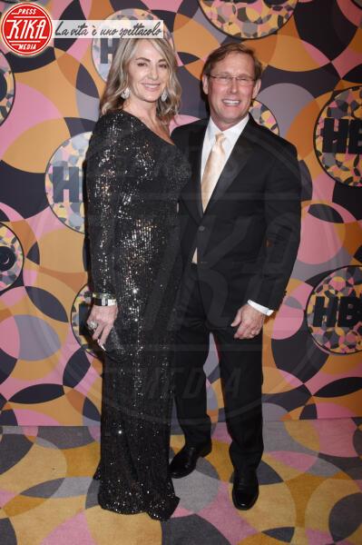 Bart Conner, Nadia Comaneci - Beverly Hills - 05-01-2020 - Golden Globes 2020, Helen Mirren signora in rosso al party HBO