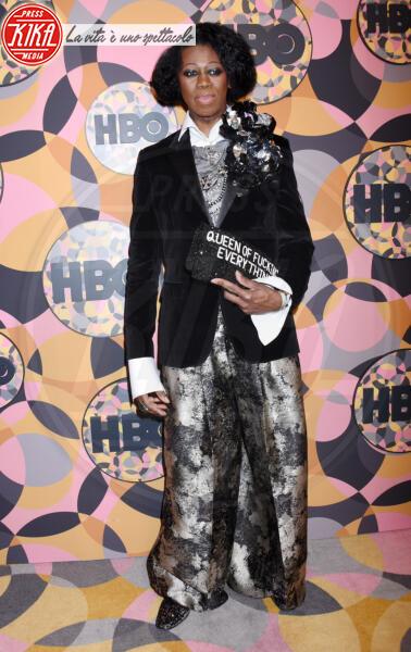J. Alexander - Beverly Hills - 05-01-2020 - Golden Globes 2020, Helen Mirren signora in rosso al party HBO