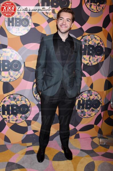 Michael Gandolfini - Beverly Hills - 05-01-2020 - Golden Globes 2020, Helen Mirren signora in rosso al party HBO