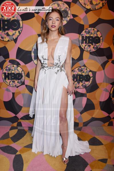 Sydney Sweeney - Beverly Hills - 05-01-2020 - Golden Globes 2020, Helen Mirren signora in rosso al party HBO