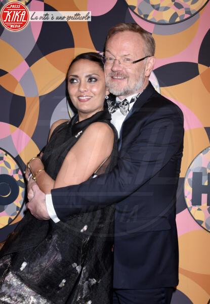 Jared Harris, Allegra Riggio - Beverly Hills - 05-01-2020 - Golden Globes 2020, Helen Mirren signora in rosso al party HBO