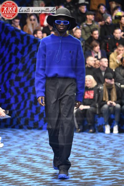 Milano Moda Uomo, sfilata Marcelo Burlon, Modello - Milano - 11-01-2020 - Milano Moda Uomo: la sfilata di  Marcelo Burlon