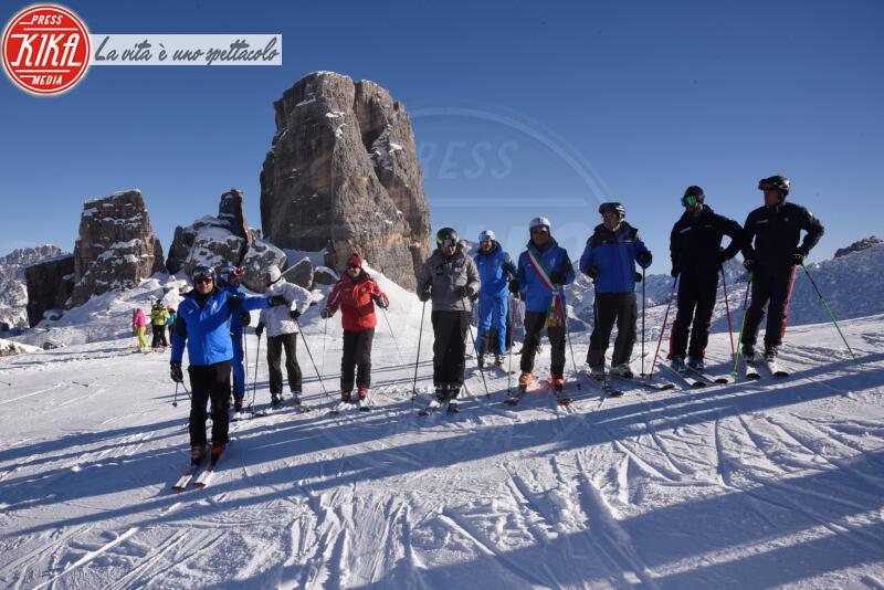 PISTA LACEDELLI - Cortina - 12-01-2020 - Cortina, inaugurato il nuovo tracciato Lino Lacedelli