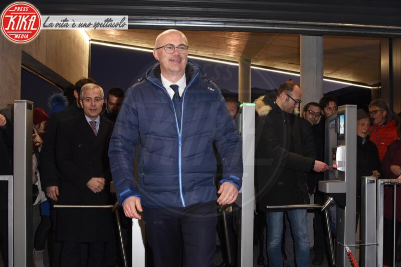 MINISTRO FEDERICO D INCA - Cortina - 12-01-2020 - Cortina, inaugurato il nuovo tracciato Lino Lacedelli
