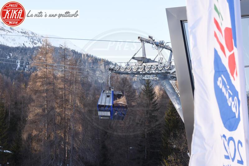 CABINOVIA TOFANA - Cortina - 12-01-2020 - Cortina, inaugurato il nuovo tracciato Lino Lacedelli