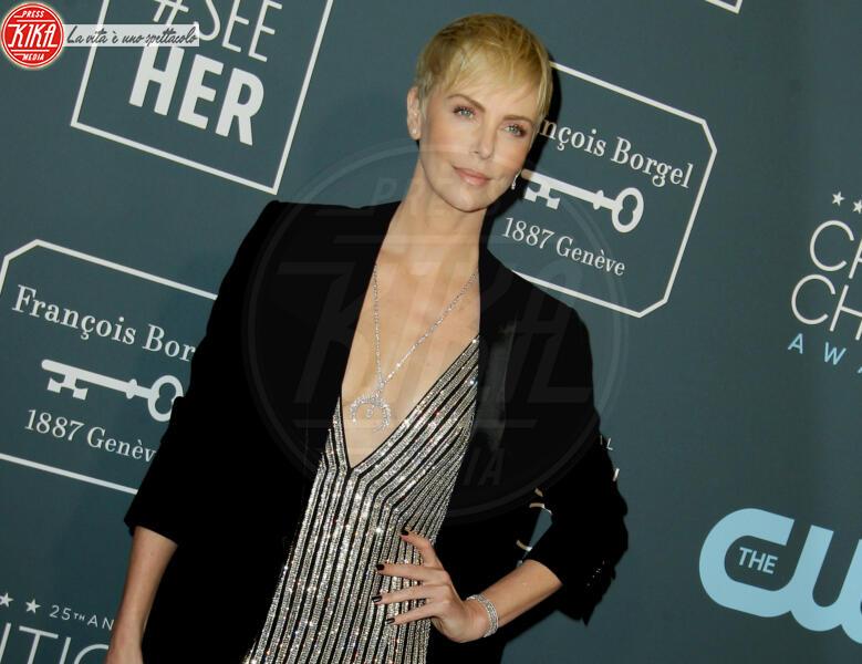 Charlize Theron - Los Angeles - 13-01-2020 - Critics' Choice Awards 2020: gli stilisti sul red carpet