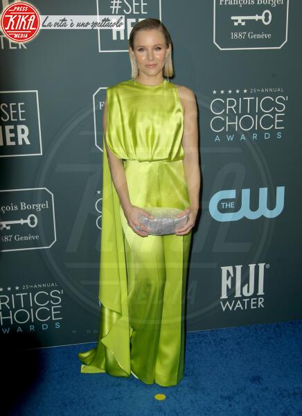 Kristen Bell - Los Angeles - 13-01-2020 - Critics' Choice Awards 2020: gli stilisti sul red carpet