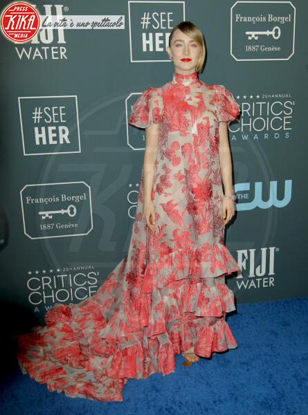Saoirse Ronan - Los Angeles - 13-01-2020 - Critics' Choice Awards 2020: gli stilisti sul red carpet