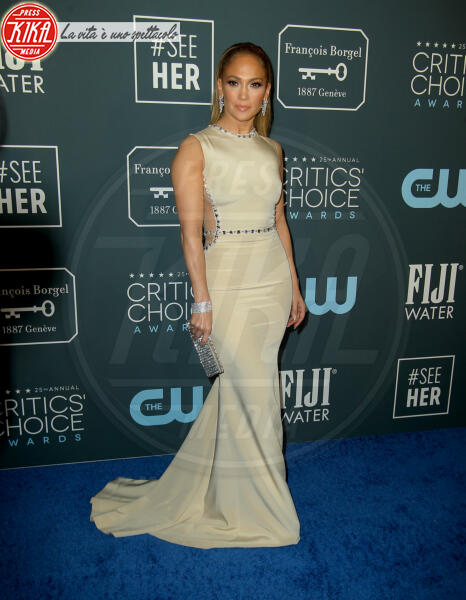 Jennifer Lopez - Los Angeles - 13-01-2020 - Critics' Choice Awards 2020: gli stilisti sul red carpet