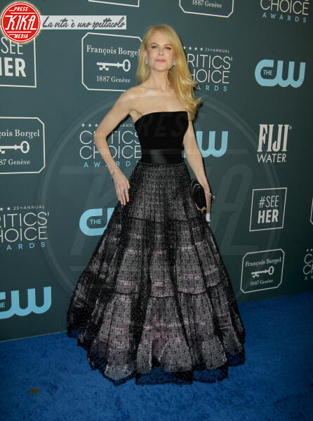 Nicole Kidman - Los Angeles - 13-01-2020 - Critics' Choice Awards 2020: gli stilisti sul red carpet