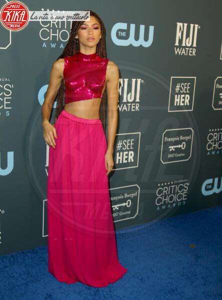 Zendaya - Los Angeles - 13-01-2020 - Critics' Choice Awards 2020: gli stilisti sul red carpet
