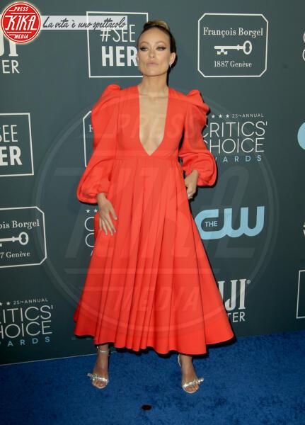 Olivia Wilde - Los Angeles - 13-01-2020 - Critics' Choice Awards 2020: gli stilisti sul red carpet