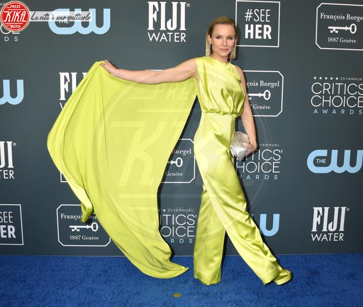 Kristen Bell - Santa Monica - 12-01-2020 - Critics' Choice Awards 2020: gli stilisti sul red carpet