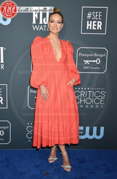 Olivia Wilde - Santa Monica - 12-01-2020 - Critics' Choice Awards 2020: gli stilisti sul red carpet