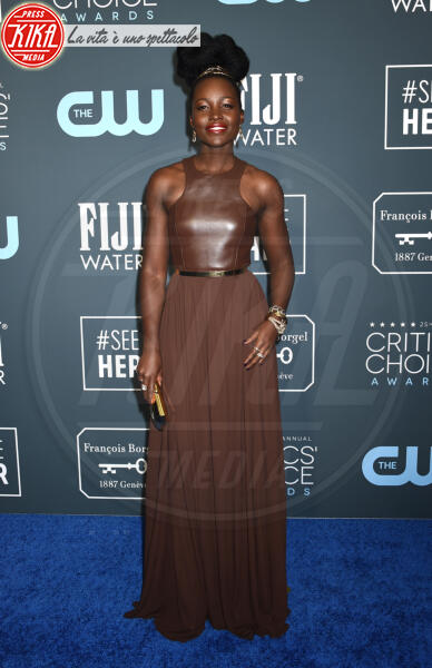 Lupita Nyong'o - Santa Monica - 12-01-2020 - Critics' Choice Awards: Anne Hathaway, guardatela negli occhi!