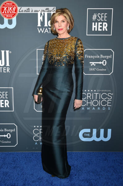 Christine Baranski - Santa Monica - 12-01-2020 - Critics' Choice Awards: Anne Hathaway, guardatela negli occhi!