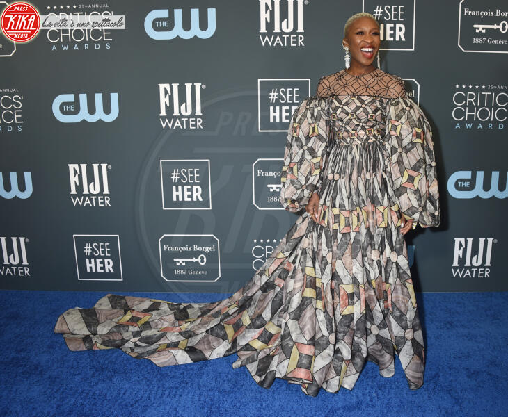 Cynthia Erivo - Santa Monica - 12-01-2020 - Critics' Choice Awards: Anne Hathaway, guardatela negli occhi!