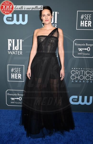 Phoebe Waller-Bridge - Santa Monica - 12-01-2020 - Critics' Choice Awards: Anne Hathaway, guardatela negli occhi!