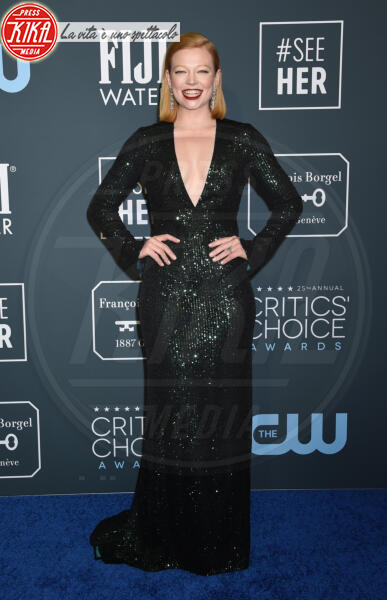 Sarah Snook - Santa Monica - 12-01-2020 - Critics' Choice Awards: Anne Hathaway, guardatela negli occhi!