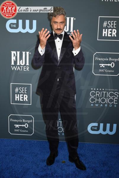 Taika Waititi - Santa Monica - 12-01-2020 - Critics' Choice Awards: Anne Hathaway, guardatela negli occhi!