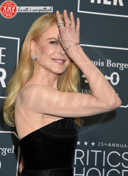 Nicole Kidman - Santa Monica - 12-01-2020 - Critics' Choice Awards: Anne Hathaway, guardatela negli occhi!