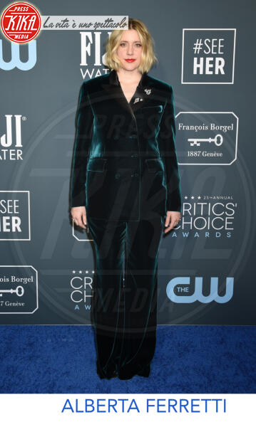 Greta Gerwig - Santa Monica - 12-01-2020 - Critics' Choice Awards 2020: gli stilisti sul red carpet