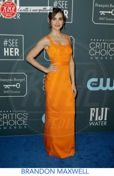 Alison Brie - Los Angeles - 13-01-2020 - Critics' Choice Awards 2020: gli stilisti sul red carpet