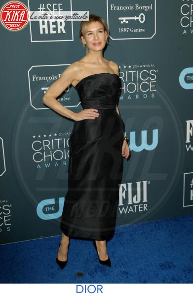 Renee Zellweger - Los Angeles - 13-01-2020 - Critics' Choice Awards 2020: gli stilisti sul red carpet