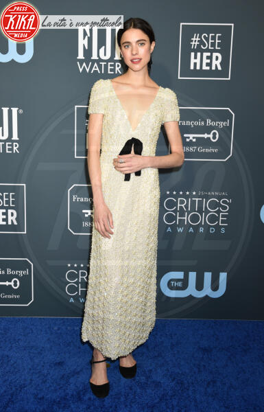 Margaret Qualley - Santa Monica - 12-01-2020 - Critics' Choice Awards: Anne Hathaway, guardatela negli occhi!
